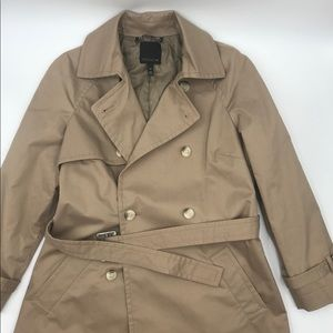 THE LIMITED trench coat size xs double breasted